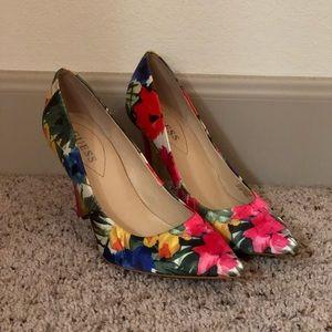 Floral Guess Heels